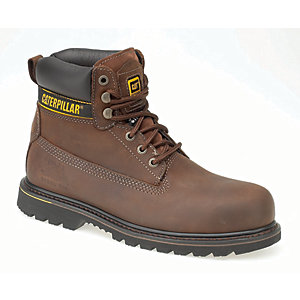 Caterpillar CAT Holton SB Safety Boot - Brown