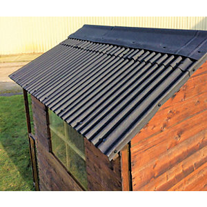 Watershed Roofing Kit for 6ft x 9ft Apex Roof - WA12-400-322