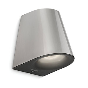 Philips Virga Inox LED Wall Light - 4W