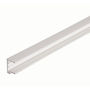 16mm PVC Sheet Closure - White 2.1m