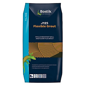 Bostik Flexible Tile Grout J125 5kg White
