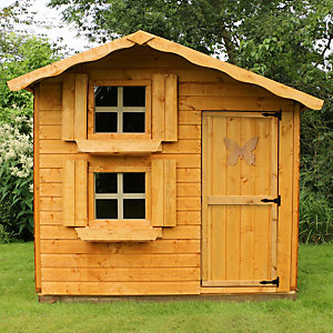 Mercia 7 x 5 ft Timber Double Storey Playhouse