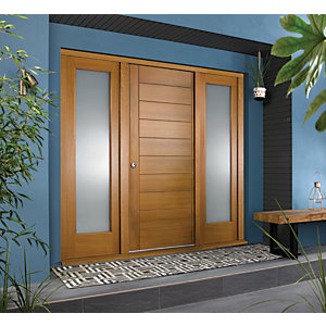 JCI Ultimate Door Frame with Double Side Light Oak