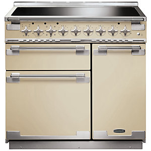 Rangemaster Elise 90cm Induction Range Cooker - Cream