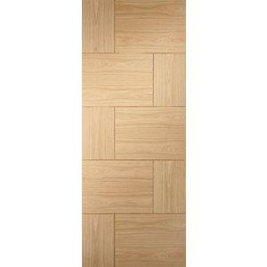 XL Joinery Ravenna Oak 10 Panel Pre Finished Internal Door - 1981mm x 762mm