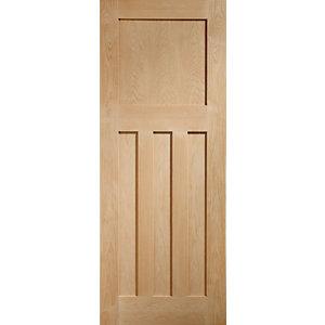 XL Joinery DX 1930s Classic Oak Pre Finished Internal Door - 1981 x 838mm