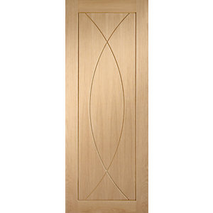 XL Joinery Pesaro Oak Patterned Pre Finished Internal Door - 1981mm x 838mm