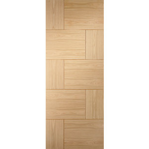 XL Joinery Ravenna Oak 10 Panel Internal Fire Door - 1981mm x 762mm