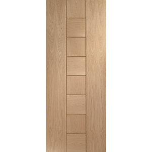 XL Joinery Messina Oak 8 Panel Internal Fire Door - 1981mm x 762mm