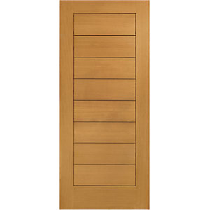 XL Modena External Oak Right Handed Fully Finished - Door Set 2067 x 926mm