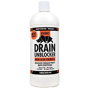Rhino Non Acidic Drain Unblocker 1l Wickes Co Uk