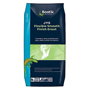Bostik Smooth Flexible Tile Grout J115 5kg Black