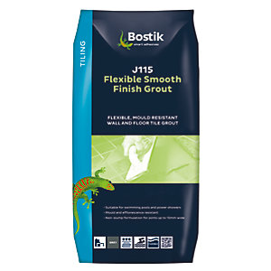 Bostik Smooth Flexible Tile Grout J115 5kg Grey