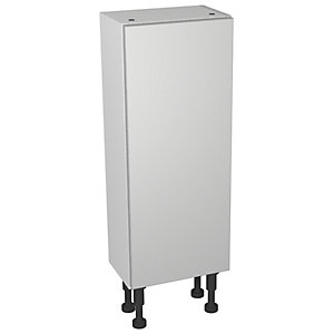 Wickes Vienna Grey Gloss Compact Floorstanding or Wall Storage Unit - 300 x 735mm
