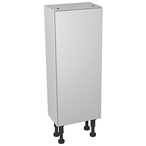 Wickes Vienna Grey Gloss Floorstanding Storage Unit - 300 x 735mm