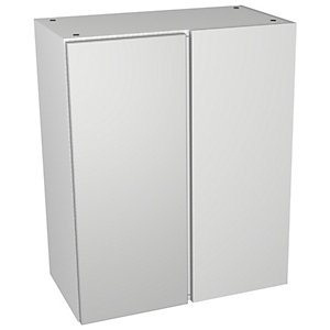 Wickes Vienna Grey Gloss Floorstanding Corner Storage Unit - 600 x 735mm