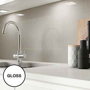 Image of AluSplash Splashback - Warm Grey 900 x 800mm
