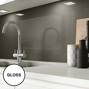 AluSplash Splashback - Grey Mocha