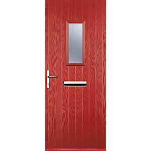 Euramax 1 Square Red Right Hand Composite Door