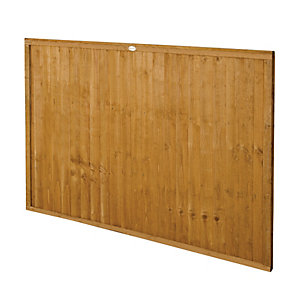 Forest Garden Dip Treated Closeboard Fence Panel - 6 x 4ft Pack of 4