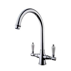 Wickes Zores Monobloc Kitchen Sink Mixer Tap - Chrome