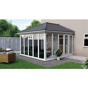 Euramax Edwardian E10 Full Glass Conservatory - 13 x 17 ft