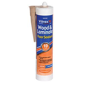 Vitrex Flexible Flooring Sealant Medium Oak - 310ml