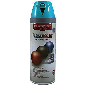 Plastikote Multi-surface Spray Paint - Gloss Exotic Sea 400ml