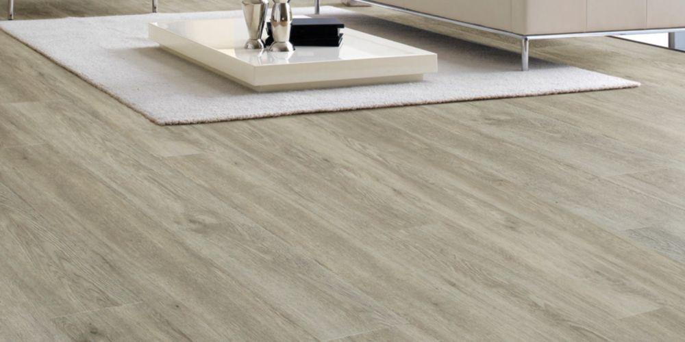 Novocore Light Grey Oak Luxury Vinyl Click Flooring - 2.56m2 Pack