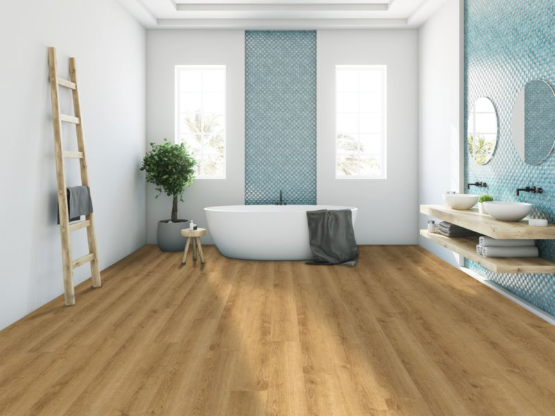 Warm Oak Luxury Vinyl Flooring