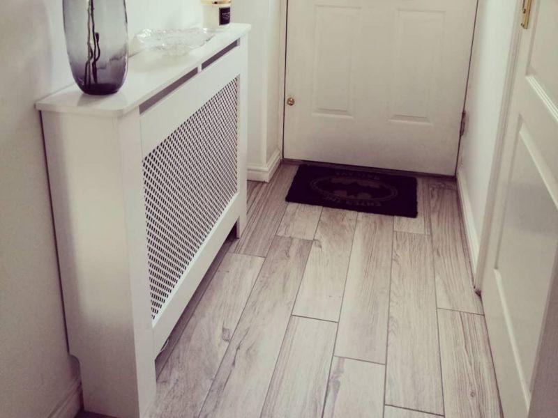 Mercia Grey Wood Effect Tile