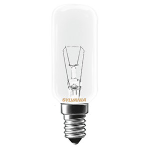 Sylvania Incandescent Dimmable Tubular E14 Light Bulb - 25W