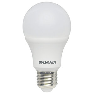 Sylvania LED GLS Non Dimmable Frosted E27 Light Bulb - 9W