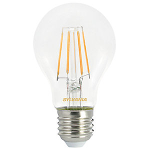 Sylvania LED GLS Non Dimmable Filament E27 Light Bulb - 4.5W