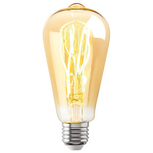 Sylvania LED Non Dimmable Gold Filament Tubular E27 Light Bulb - 5W