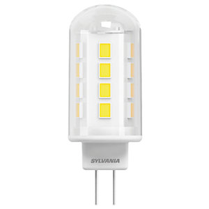 Sylvania LED Non Dimmable Capsule G4 Light Bulbs - 2.2W Pack of 2