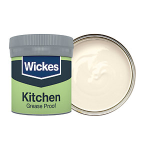 Wickes Ivory - No. 400 Kitchen Matt Emulsion Paint Tester Pot - 50ml
