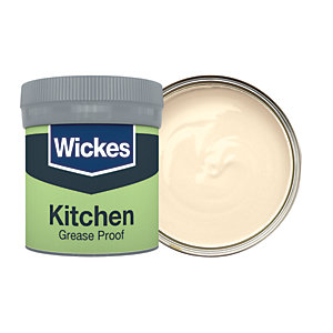 Wickes Magnolia - No. 310 Kitchen Matt Emulsion Paint Tester Pot - 50ml