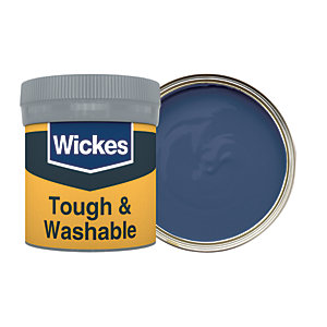 Wickes Admiral - No. 970 Tough & Washable Matt Emulsion Paint Tester Pot - 50ml