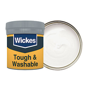 Wickes Pebble Grey - No. 425 Tough & Washable Matt Emulsion Paint Tester Pot - 50ml