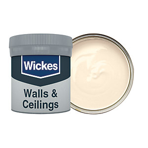 Wickes Biscuit - No. 320 Vinyl Matt Emulsion Paint Tester Pot - 50ml