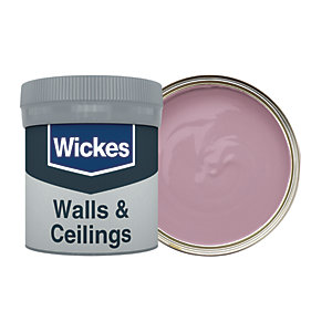 Wickes Vintage Blush - No. 615 Vinyl Matt Emulsion Paint Tester Pot - 50ml