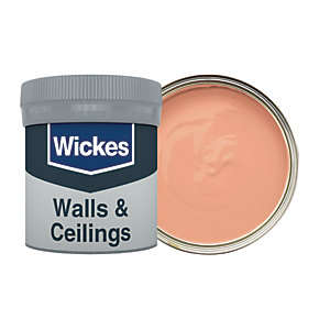 Wickes Burnt Copper - No. 515 Vinyl Matt Emulsion Paint Tester Pot - 50ml