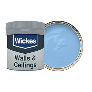 Wickes Cornflower - No. 925 Vinyl Matt Emulsion Paint Tester Pot - 50ml