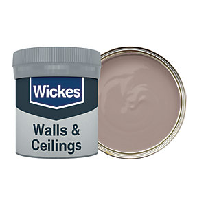 Wickes Driftwood - No. 445 Vinyl Matt Emulsion Paint Tester Pot - 50ml