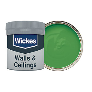 Wickes Botanical Green - No. 825 Vinyl Matt Emulsion Paint Tester Pot - 50ml