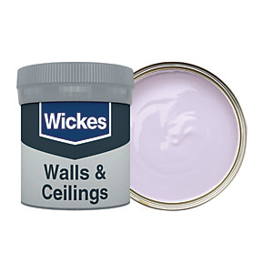 Wickes Lilac - No. 705 Vinyl Matt Emulsion Paint Tester Pot - 50ml