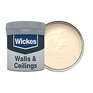 Wickes Magnolia - No. 310 Vinyl Matt Emulsion Paint Tester Pot - 50ml