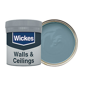 Wickes Moon Shadow - No. 975 Vinyl Matt Emulsion Paint Tester Pot - 50ml