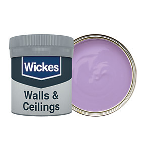 Wickes Parma Violet - No. 710 Vinyl Matt Emulsion Paint Tester Pot - 50ml